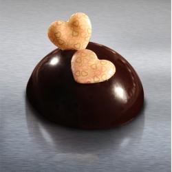 Inimioare ciocolata Fantasia