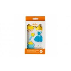 Printesa rochie albastra