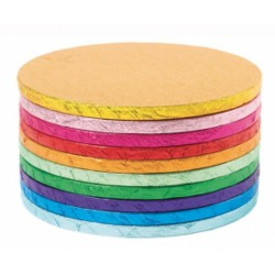 Platforma tort rotunda colorata