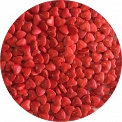 Confetti inimioare rosii din zahar