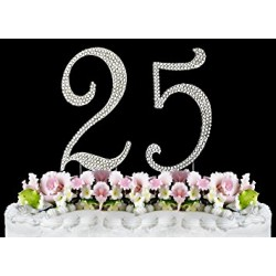 Cake topper 25