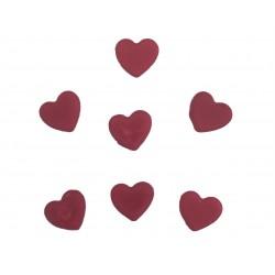 Mini inimioare rosii